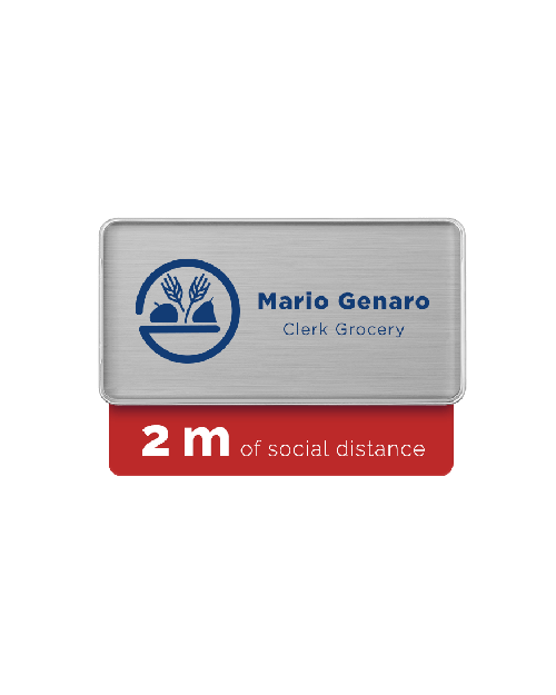 Badge Talker- 2M Social Distance