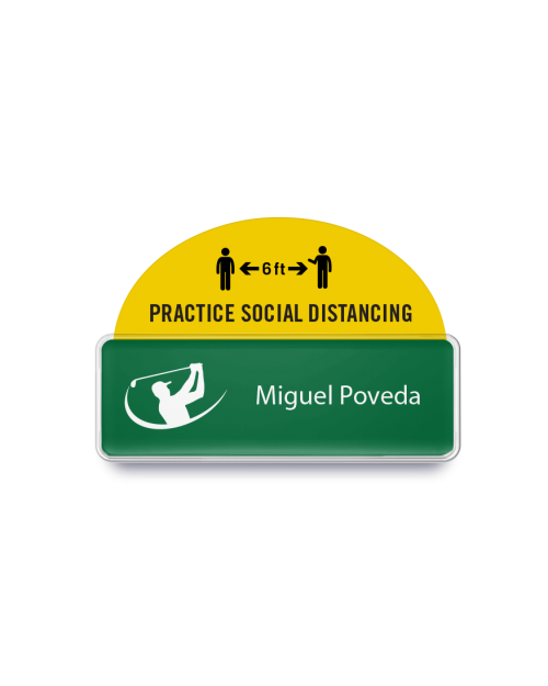 Badge Talker- Practice Social Distance 6 FT