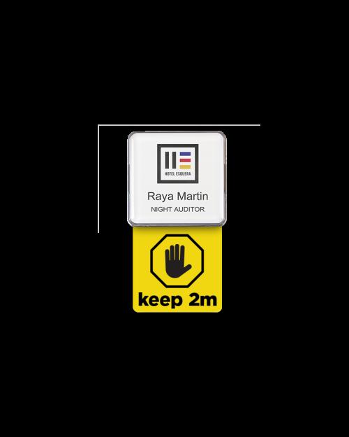 Badge Talker- Mockup-2m-Square yellow