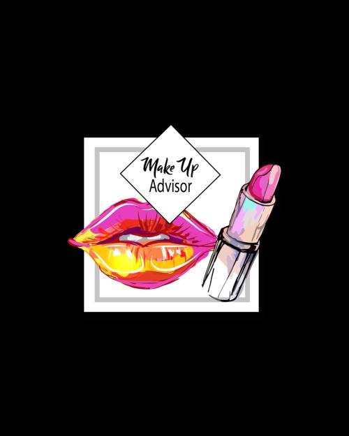 Cosmetics Badges Make-Up Advisor