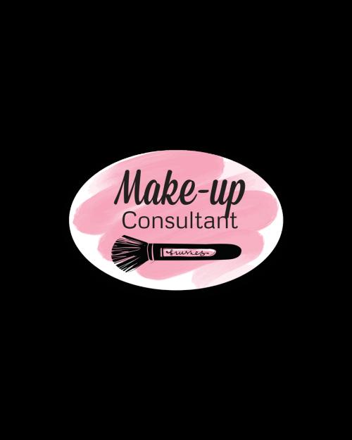 Cosmetics Badges Make-Up Consultant