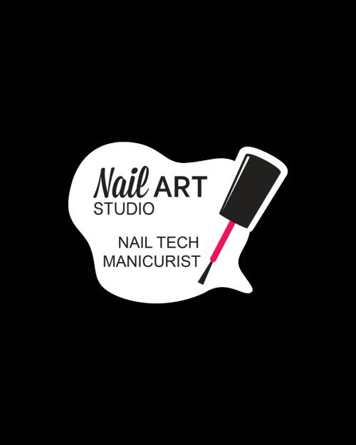 Cosmetics Badges Nail Art Studio