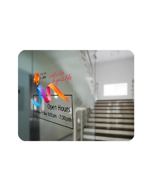static cling window decals for Business