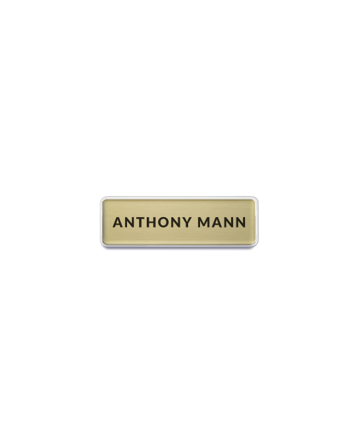 Text Only Name Badge