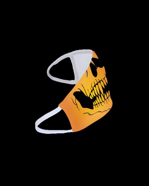 Face mask Halloween Skeleton