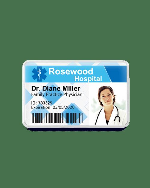 Healthcare ID Badge