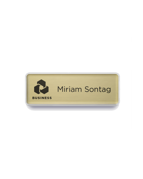 Business Name Badge