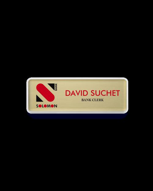 Banking Name Badge