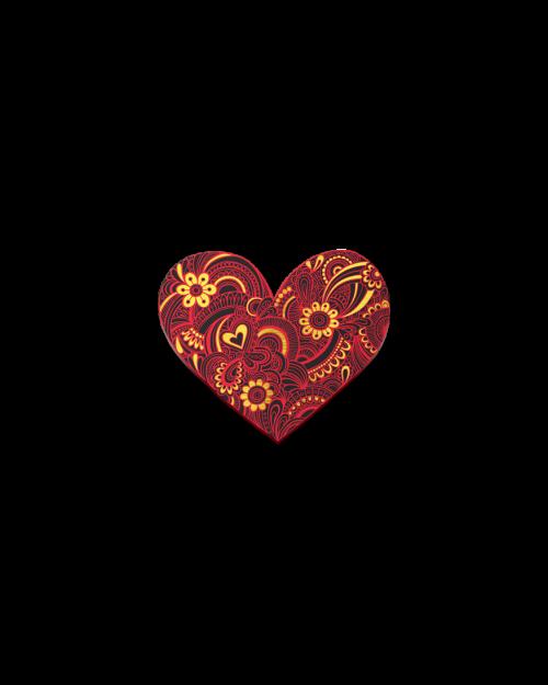 Heart Lapel Pin - European Gold