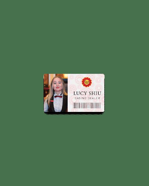 Permanent Plastic Membership Badges