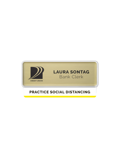 Badge Talker- Practice Social Distance