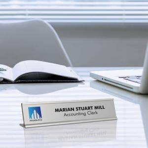 Reusable Metal Office Signs