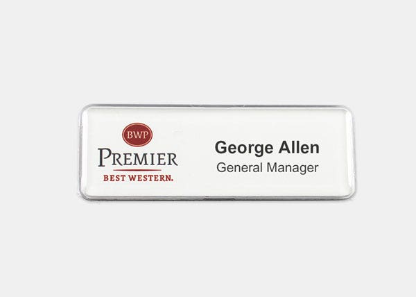 BWP name badge
