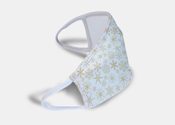 snowflake face mask