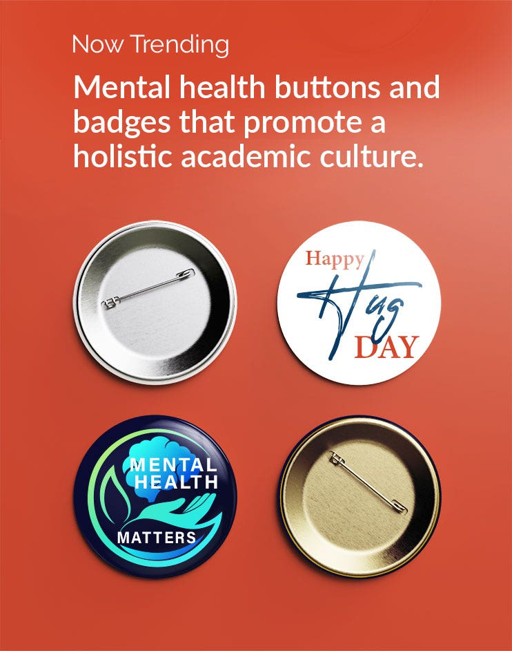 button badges in Education