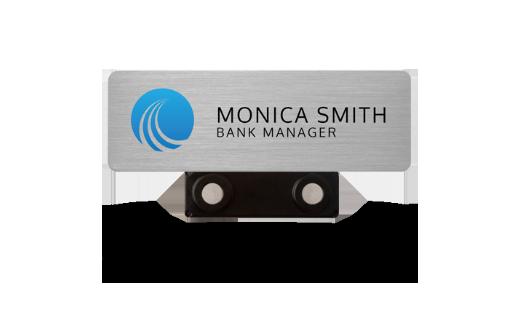 permanent name badge