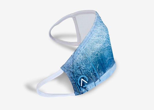Blue winter mask