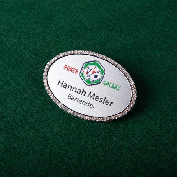 bling badges for casino industry