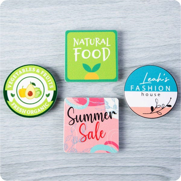 button badge in retail industry
