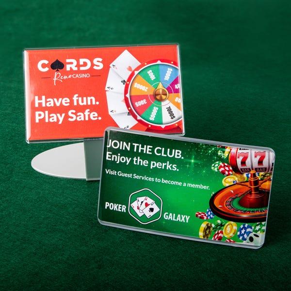 Signage for casinos
