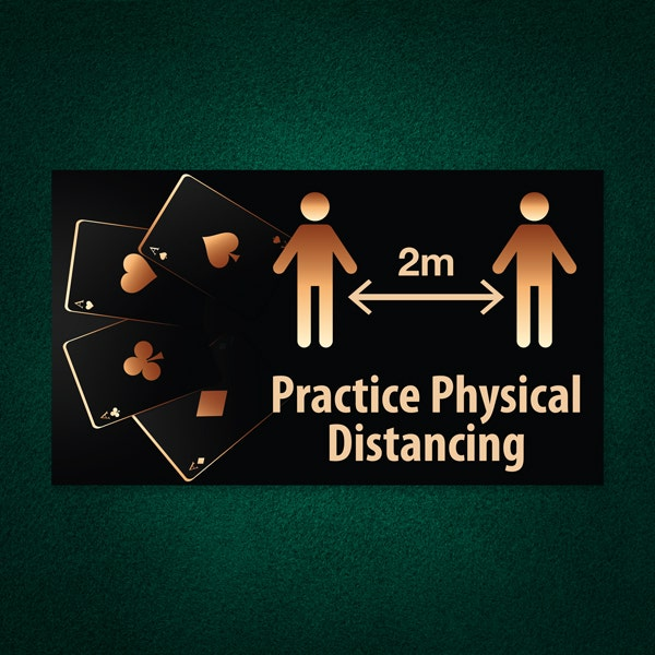 Safety signs for casinos