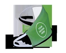 Custom designed Green Face Mask