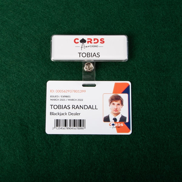 hook-up badges  for casino industry