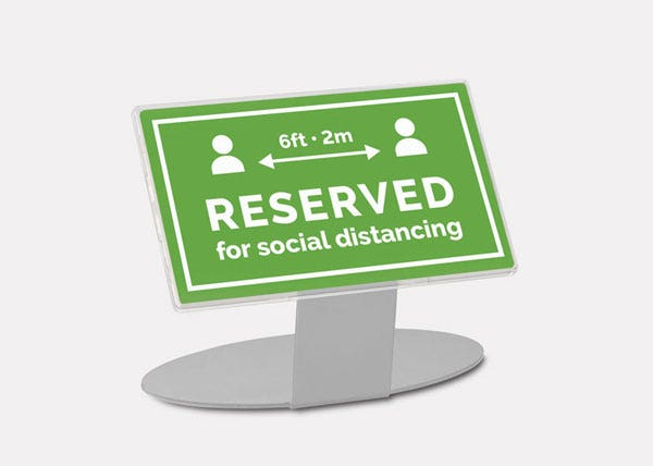 Social Distance Signs